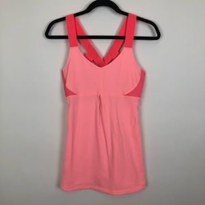 Lucy small organe active workout tech tank